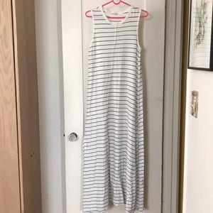 🌍 Zara striped maxi dress